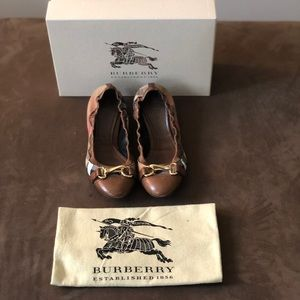 Shoes - Authentic Burberry Ballet Slippers